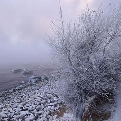 Холодное утро 3 января