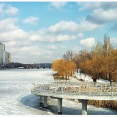 Зима в Донецке