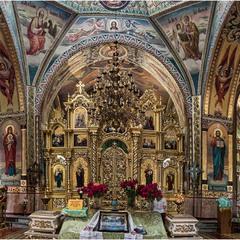 Интерьер Успенского собора в Миргороде