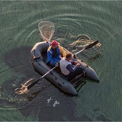 Жизнь рыбацкая бурлит