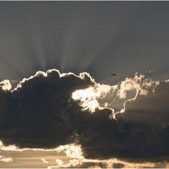 Пронзая облака