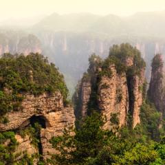 Горы Чжанцзяцзе.
