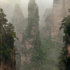 Загадочные горы Аватара.