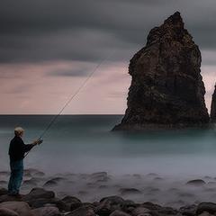 Утренняя рыбалка.