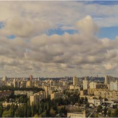 Фрагмент осеннего Киева.