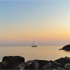 Спокойствие моря.