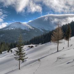 Облачная перина для гор