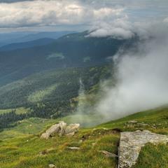 Там, где горы с небом обнялись