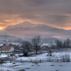 Утро с видом на Говерлу