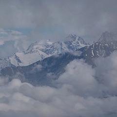 Горы, облака...
