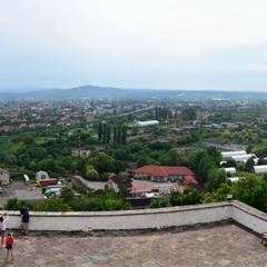 Панорама  з замку Паланок