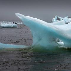 Голубой лёд Исландии