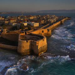 Стены древнего Акко