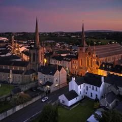 Вечерний Эннискиллен Ирландия.