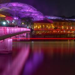 Вечерние прогулки по Сингапуру