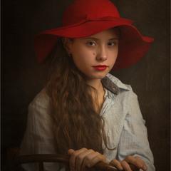 Портрет.Єлизавета