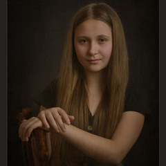 Портрет.Настя