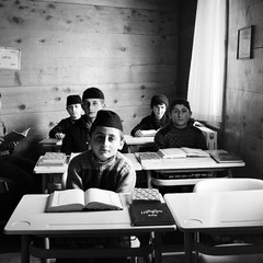 Georgian muslim children