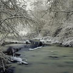 Справжня зима.