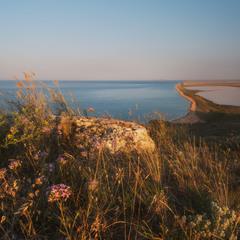 Утро в заповеднике Опук
