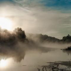 Ранковий туман над р. Тетерів