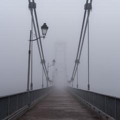 Пішохідний міст через р. Тетерів