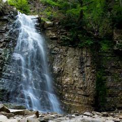 Манявский водопад