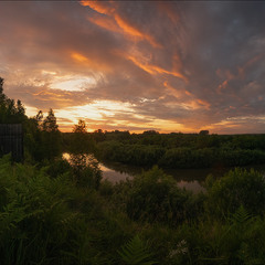 Закат на Яру