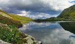 Озеро Бребенескул - вид сбоку