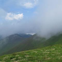 Горно-облачный пейзаж