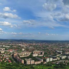 Панорама Мукачева