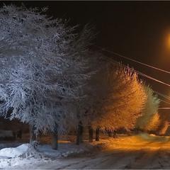 Зимний наряд с подсветкой