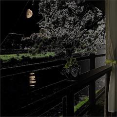 Луна над речкой Уж