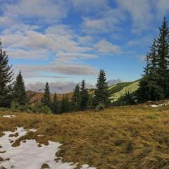 По пути на гору Стрымба.