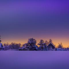 Палитра зимнего вечера