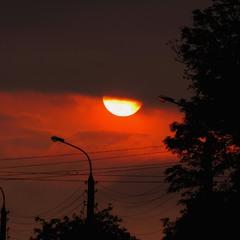 Полум'яне сонце