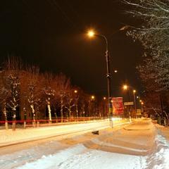 Прогулянка засніженим Старокостянтиновом