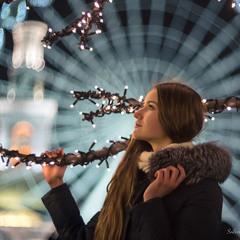 Вечірній зимовий портрет