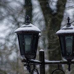 В город вернулся снег