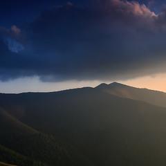 ...над горою Стій...Боржавський колорит...
