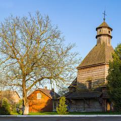Церква Воздвиження Чесного Хреста 1613р. Б, м. Дрогобич