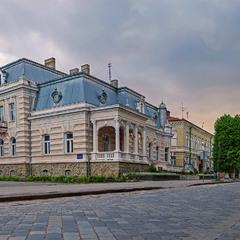 ...місто Дрогобич... вид на віллу бургомістра Раймунда Яроша...