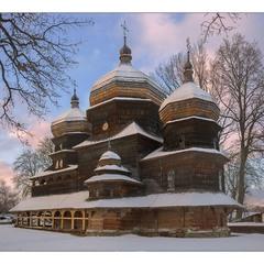 деревяна памятка UNESKO, церква св. Юрія, м. Дрогобич...
