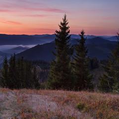 ...наодинці із горами...кожному своє...