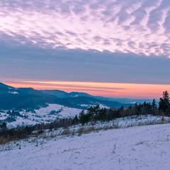 ...зимовий вечір догоряє...