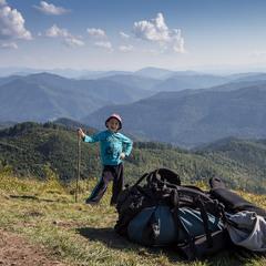 З ранніх літ треба в горах проливати піт...
