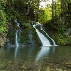 """...водоспад Гуркало, на потоці Велика Річка, НПП """"Сколівські Бескиди"""""""