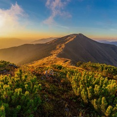 гора Стримба 1719 м, Західні Горгани