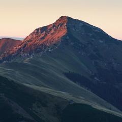 Вершина Corongis (Румунія)