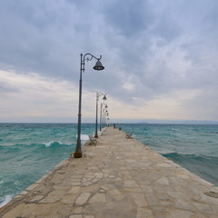Непогода на Егейському морі